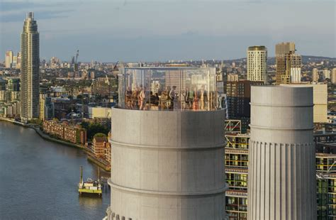 Get ready to travel up one of Battersea Power Station's