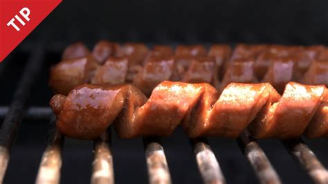 Why You Should Spiral-Cut Your Wiener - CHOW Tip - YouTube