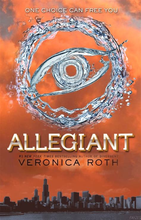 'Divergent' book 3 'Allegiant' cover - The 10 best fan