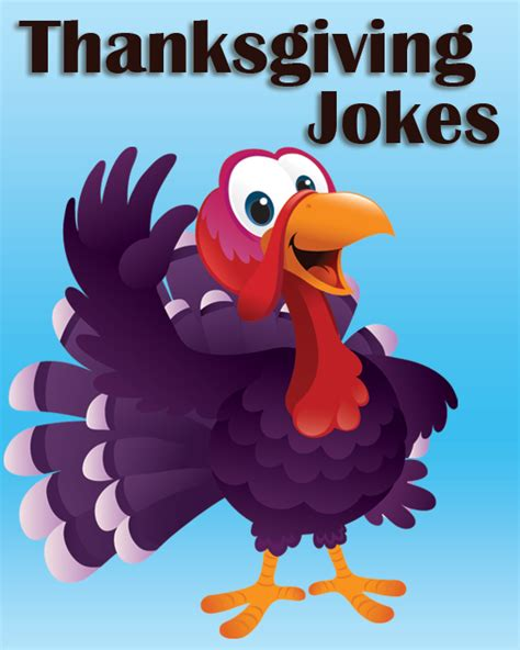 Thanksgiving Jokes, Riddles and One Liners • Free Online