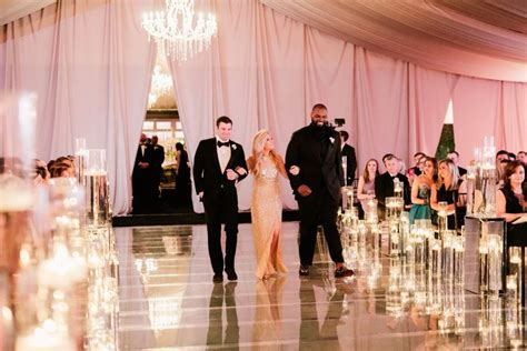 We love everything about this ceremony for Collins Tuohy