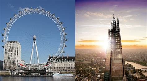 London Eye vs The Shard: Which should you visit? – Day out
