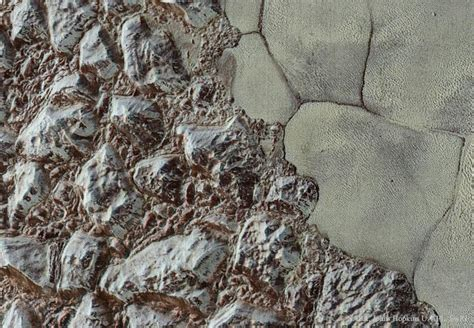 APOD: 2015 December 14 - Pluto: From Mountains to Plains