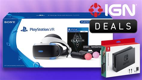 Daily Deals: Save on PS VR Bundles, Nintendo Switch Dock