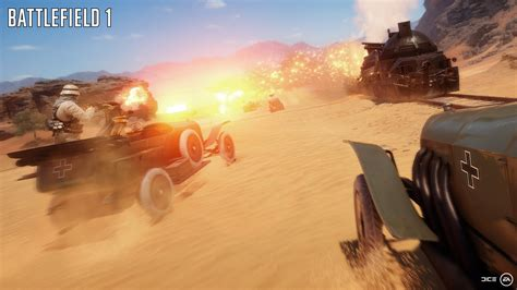 Battlefield 1 - here's a look at 64-player multiplayer on