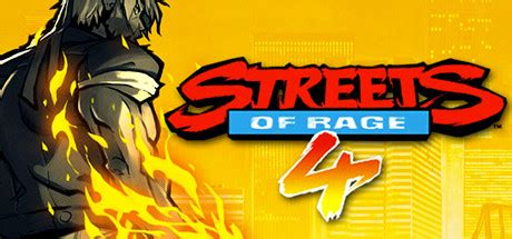Streets of Rage 4 on Steam