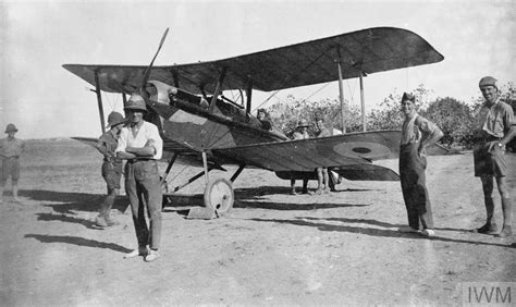 THE ROYAL AIR FORCE IN PALESTINE, 1917-1918 (Q 69632)