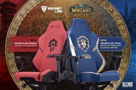 Secretlab x World of Warcraft Gaming Chairs Available for