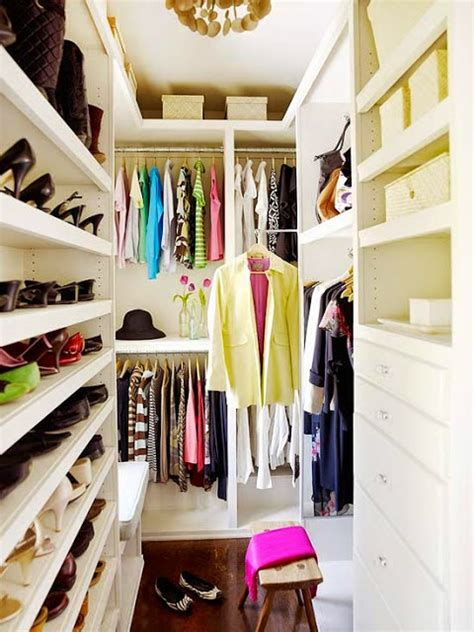 20 Incredible Small Walk-in Closet Ideas & Makeovers - The