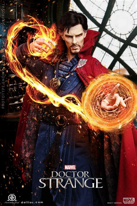 Doctor Strange Ball Jointed Doll from I