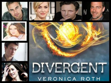 divergent cast (With images)   Divergent book, Books young