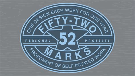 52 Marks Project on Behance