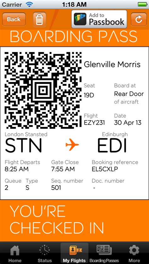 EasyJet Adds Support for Passbook Boarding Passes - iClarified
