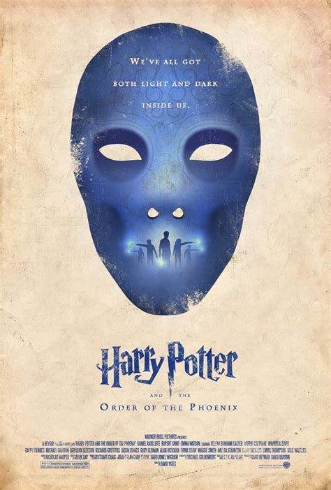 Redesigned 'Harry Potter' Posters Give Movie Franchise New