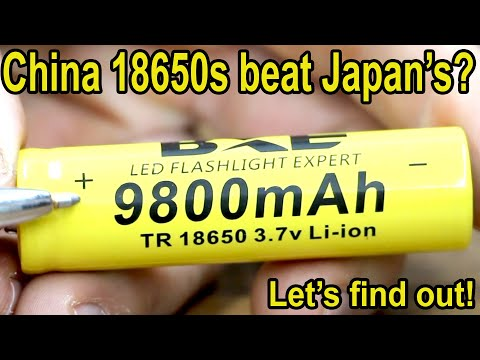 Battery test-review 18650 comparator
