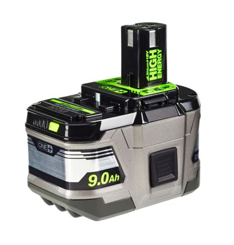 It's Official - Ryobi 18V 6ah and 9ah and Compact 3ah
