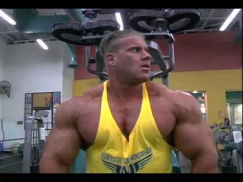 Jay Cutler chest workout - YouTube