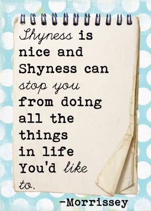 Quotes About Overcoming Shyness