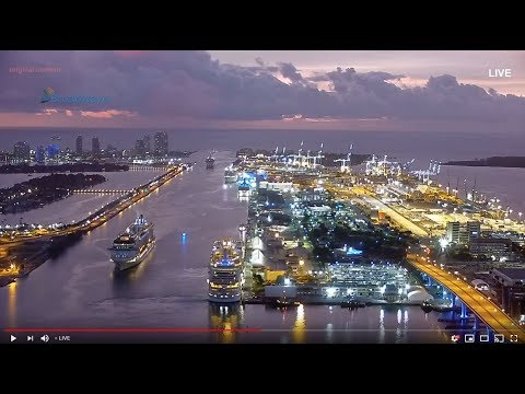 Fort Lauderdale Port Everglades USA Cruise Port of Call