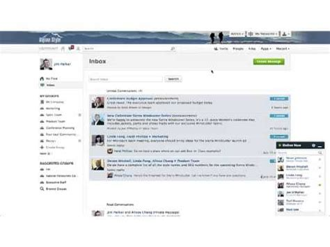 Yammer Overview - YouTube